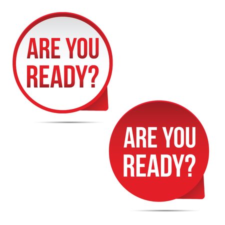 Are you ready label set