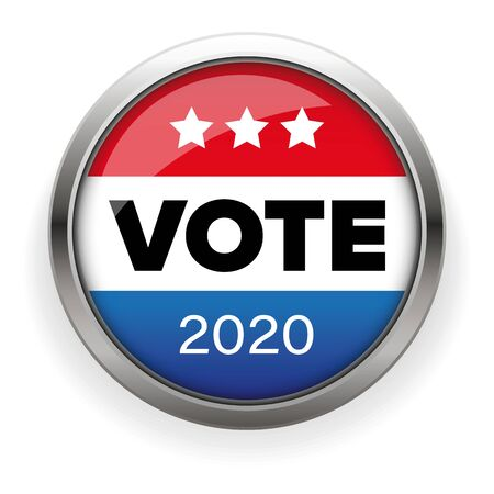 Presidential election Vote badge