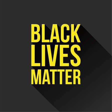 Black Lives Matter sign 일러스트
