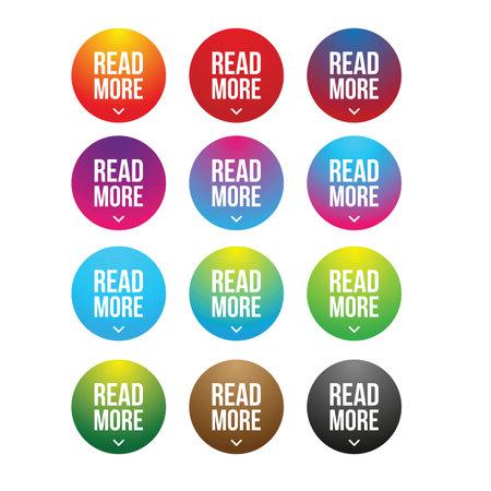 Read More button set circle