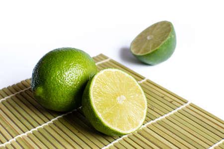 Fresh lime and slice