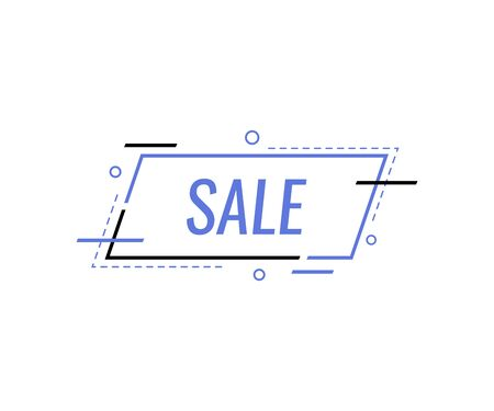 Sale special offer end of season. Sale banner template design. vector illustration. Illusztráció