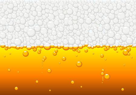 Abstract texture vector of beer Vector