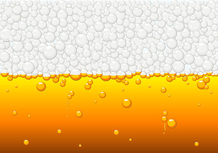 Abstract texture vector of beer