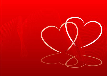 Abstract valentines background vector illustration