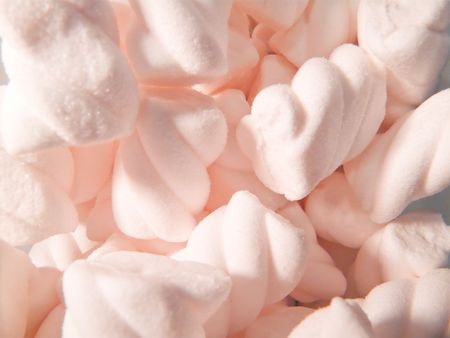 sweettooth: Close-up of pink sugared candy