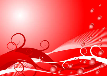 Abstract vector background for valentine Vector