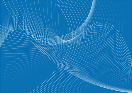 Abstract vector illustration of a swirly background