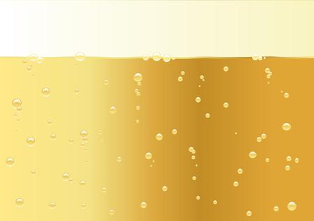 bollicine champagne: Abstract illustrazione vettoriale di una texture con champagne per la copia