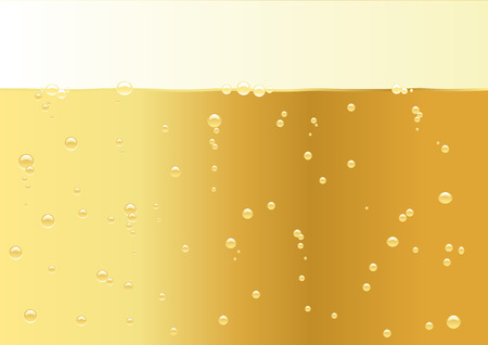 Abstract vector illustration of a champagne texture with space for copy Vector