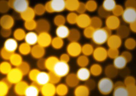 noelle: Illustration of golden confetti bokeh