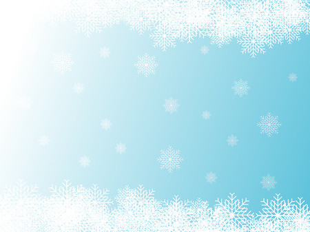 Abstract vector illustration of a blue christmas background Vector