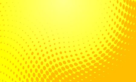 Resumen de antecedentes ilustración vectorial de un medio tono amarillo Foto de archivo - 5624767