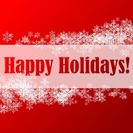 Resumen ilustración de un fondo de Navidad con saludos felices fiestas Foto de archivo - 5644189