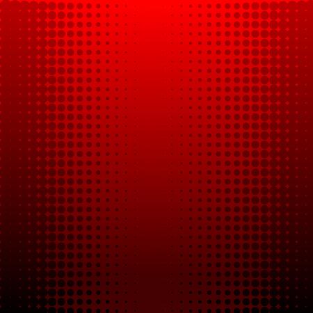 Resumen ilustración vectorial de un fondo de media tinta roja Foto de archivo - 5661481