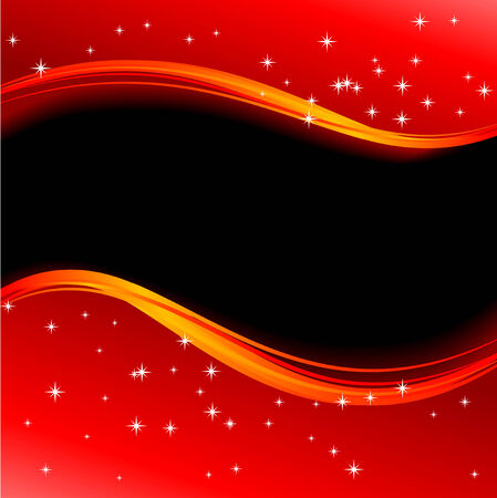 Abstract vector illustration of a christmas background Stock Vector - 5661491