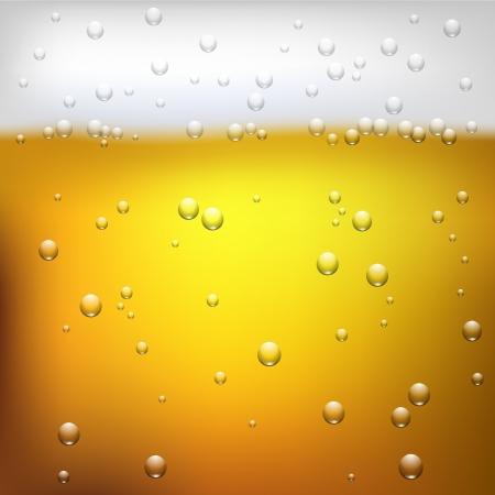 Ilustración de una textura de la cerveza de cerca Foto de archivo - 23651108
