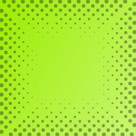 Halftone green vector background eps10
