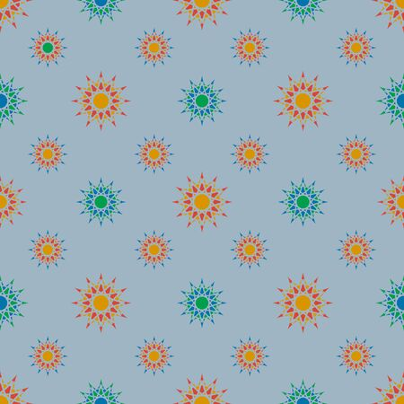 Texture with abstract geometric ornament. mosaic pattern, . Illustration