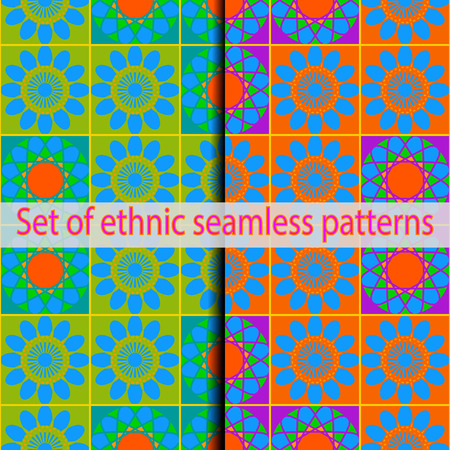 alhambra: EPS10. All patterns in the swatches panel.