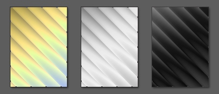 Collection isolated gradient vector backgrounds. Applicable for Covers, Placards, Posters, Booklets, Blanks, Cards, Flyers and Banner Designs. A4, vector EPS10.