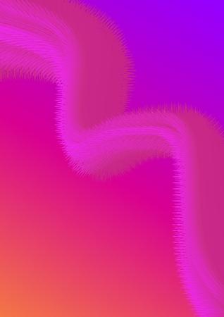 Kreatives Designplakat mit lebendiger Farbverlaufsform. Abstrakter Hintergrund der modernen Farbe für Flyer, Umschlag, Broschüre. Vektorschablone EPS10. Vektorgrafik