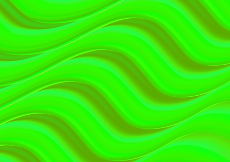 Light Green vector pattern with bent lines. Modern gradient abstract illustration with curve lines. A new texture for your ad, booklets, leaflets.