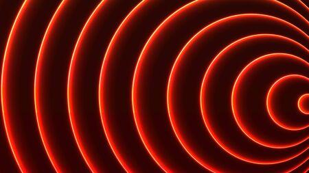 Futuristic colorful lines pattern. Bright vector 16:9 size abstract background. Illusztráció