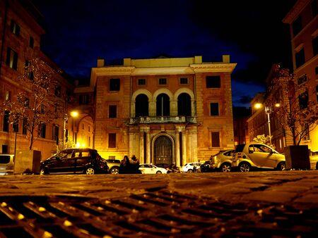 Square of pilotta in Rome
