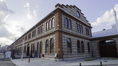 August 2018: Former railway workshop, currently the seat of the Turin Polytechnic and the new district of arts and research of the CRT Foundation. August 2018 in Turin Editorial