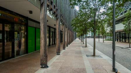 Trento 2019. Modern and eco-friendly neighborhood called