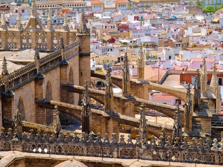 panorama of the city Seville, Spain Stock Photo - 14563578