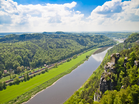 saxon: Saxon Switzerland Stock Photo