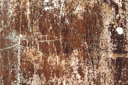 Rusty metal background. Old rust texture.