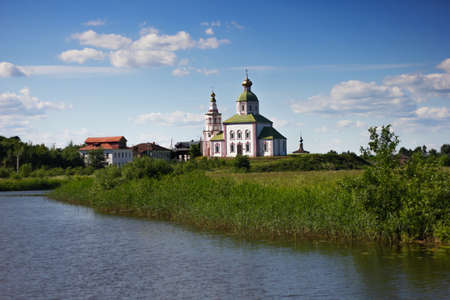 Russia, Suzdal: Church of Elijah the Prophet on Ivanova Hill in Suzdal