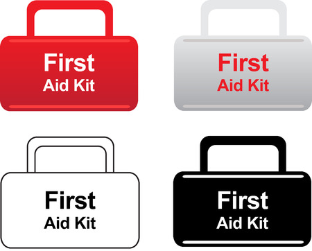 infirmary: First aid kit icons