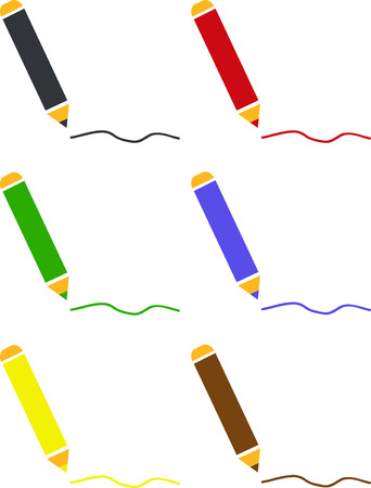 puerile: Color pencils