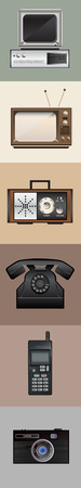 20th: Retro electronic devices
