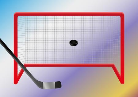 ice hockey player: Ice hockey - goal