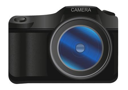 digital slr: Digital SLR camera Illustration