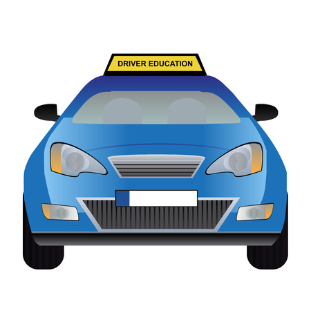 Driver education car
