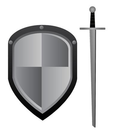 gable: Sword and shield