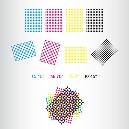Printing rosettes - correct rotation for print