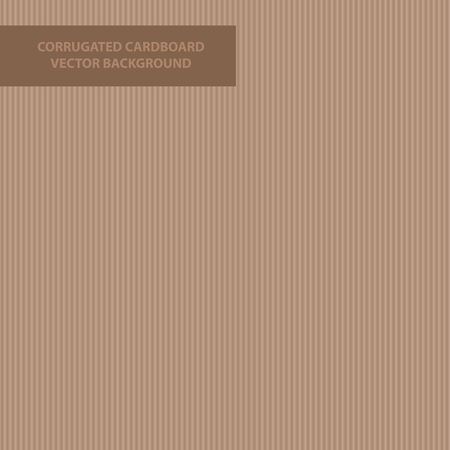 Vector background or seamless pattern of corrugated cardboard texture - box structure.
