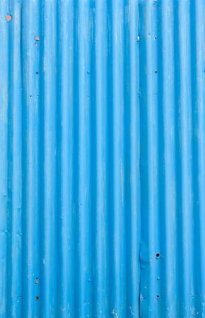 corrugated steel: Corrugated iron  Stock Photo