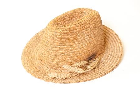 Chapeau de paille isol�