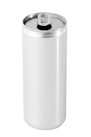 Drink can from blank aluminum  photo