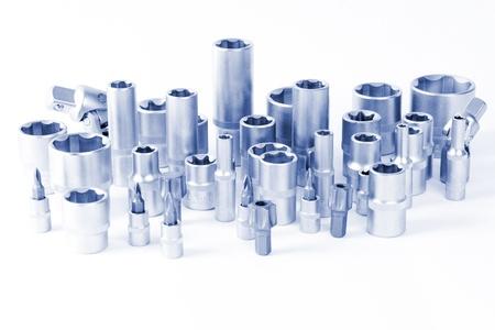 chrome vanadium: Socket wrench