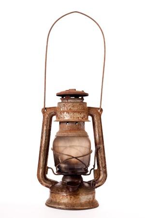 Lampe � p�trole Vieux