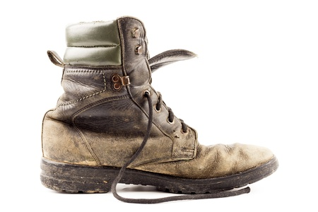 Old army boots Stock Photo - 18265702